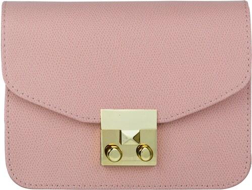 Wojewodzic extravagantná kožená kabelka malá ružová 31716 CE07 Z ... b63688cdcee