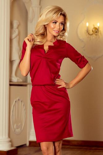 Numoco Šaty na bežné nosenie červené 161-9 - Glami.sk 733229318b5