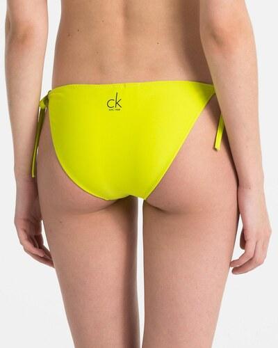 0bbc9c47d Calvin Klein žltý spodný diel plaviek CK NYC - Glami.sk
