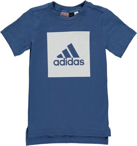 2219684d5 Detské tričko Adidas Box Logo T Shirt Junior Boys - Glami.sk