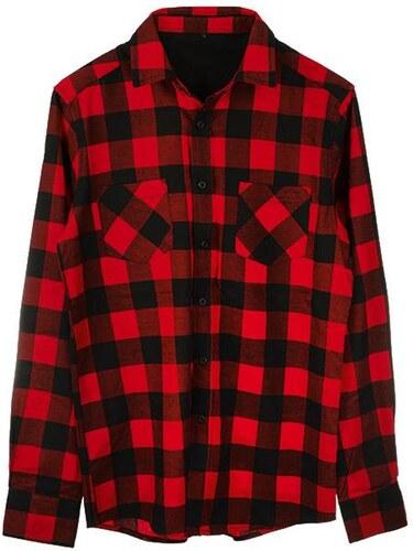 adb8a9b5fab ForQueen Košile červeno ćierna - Glami.cz