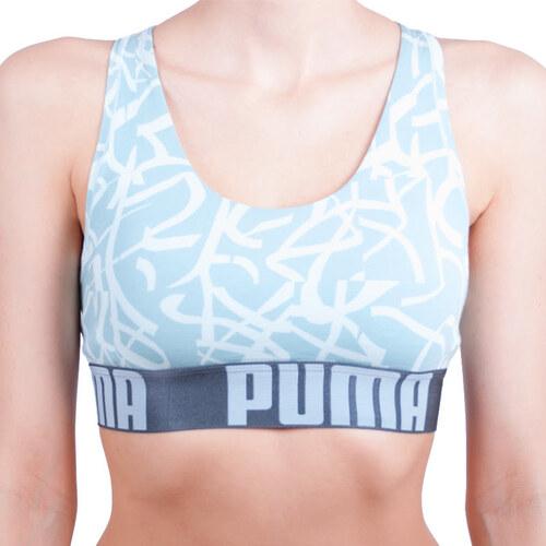 Dámská sportovní podprsenka Puma modrá (583005001 193) - Glami.cz 6e81deebf0