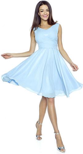 a94220b58f0 Světle modré šaty Kartes Paola - Glami.cz