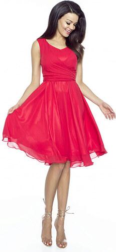 Červené šaty Kartes Paola - Glami.cz c753432ca2