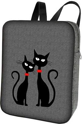 Vysněné kabelky Designový batoh Smart - Dvě kočky - Glami.cz 269eed2961