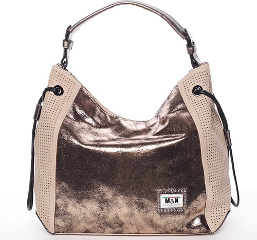 Módna dámska kabelka do ruky marhuľová - Silvia Rosa Heaven telová ... 0101f5884de