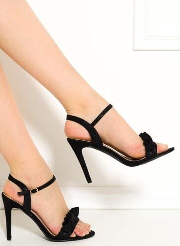 GLAM GLAMADISE shoes Dámské sandály na podpatku černé - Glami.cz 6b23a25fbb