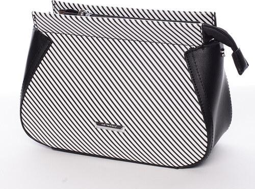 Malá originálna crossbody kabelka čierna - Silvia Rosa Media čierna ... ff1b2c1d981