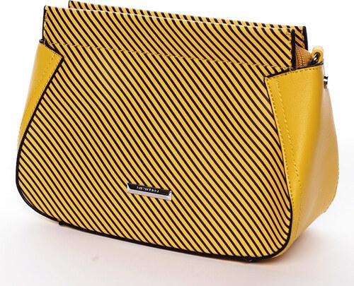 81e871752b Malá originálne crossbody kabelka žltá - Silvia Rosa Media žltá ...