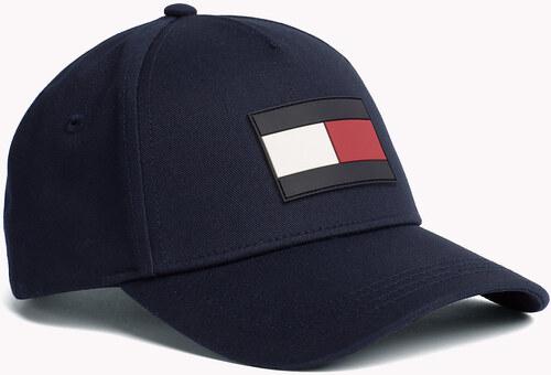 cf9736d0927 Tommy Hilfiger tmavě modrá kšiltovka TH Flag Cap - Glami.cz