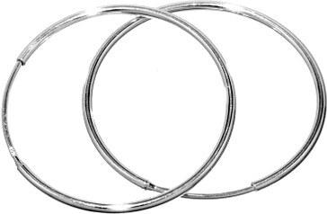 SILVEGO Stříbrné náušnice kruhy 30mm SHZE30 - Glami.cz 01a9cda59a7