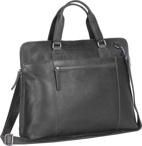 The Chesterfield Brand Dámská business kabelka na notebook L Hana  C48.061300 černá d4af3b24b3