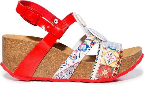 c5d49617657f Desigual farebné topánky na kline odiseo Microrapport - Glami.sk