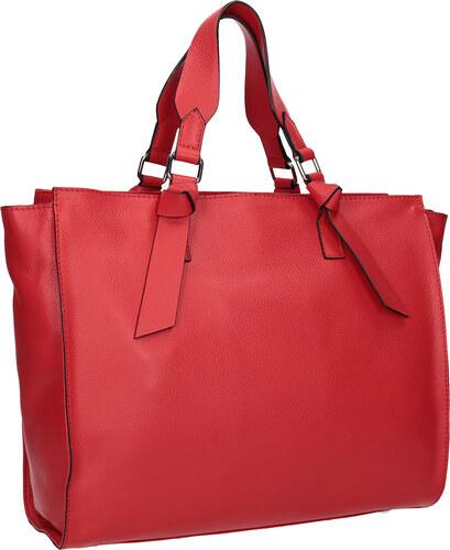Baťa Červená kožená kabelka - Glami.sk 74f0894ff1f