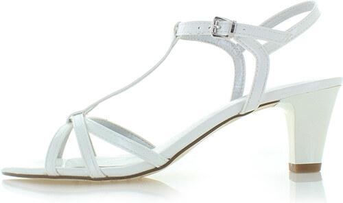 cdfee621c795 Tamaris Biele sandále 28329 - Glami.sk
