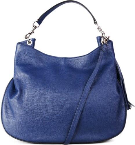 aa12fb0867 Talianske modré kožené kabelky talianske cez plece Verdura - Glami.sk