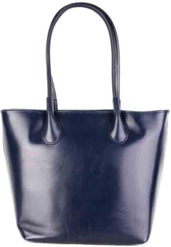 Talianske kožené kabelky veľké modré Bagalia - Glami.sk 302194b799c
