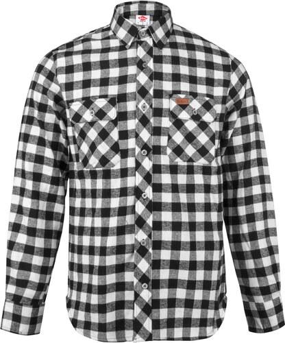 4ee8e5b8b4d2 Lee Cooper Slim Fit Check Shirt pánské Black White - Glami.sk