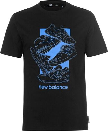 Tričko pánské New Balance 5 Shoe QTT Tee Sn92 Black - Glami.cz 15d2032c42
