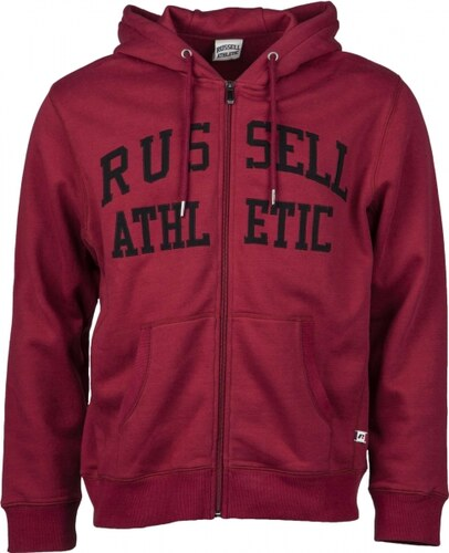 3420b64e0f Russell Athletic ZIP THROUGH TACKLE TWILL HOODY - Glami.hu