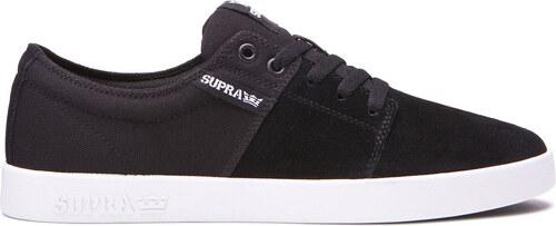 Pánske čiernobiele tenisky Supra Stacks II - Glami.sk a32abb77057