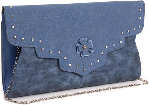 Crossbody kabelka DOCA 13674 - modrá - Glami.sk a62cc5a1570