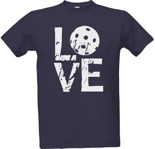 352ace3cccf4 T-shock tričko s potiskem LOVE florbal pánské - Glami.cz