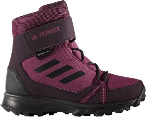 226eeef93c6 Zimní boty adidas Performance TERREX SNOW CF CP CW K (Červená   Černá    Burgundy