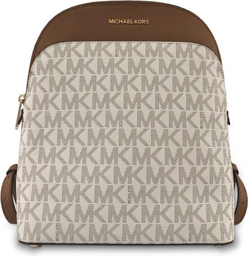 Michael Kors Batoh Emmy Backpack vanilla monogram - Glami.sk e1291d79ecf