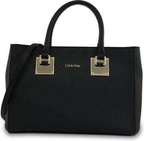 Calvin Klein Kabelka Emma Mercury Satchel čierna - Glami.sk 8352895d77e