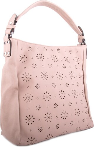 Béžová dámská crossbody kabelka s květinovým vzorem Šimen - Glami.cz 068256b9fda