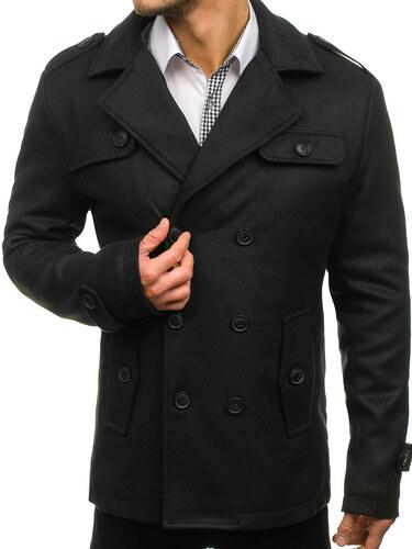 Čierny pánsky zimný kabát BOLF 3142 - Glami.sk aa511b8dad0