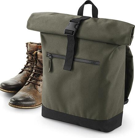 39a76f857b Bagbase RollUP Batoh - Military green - Glami.cz