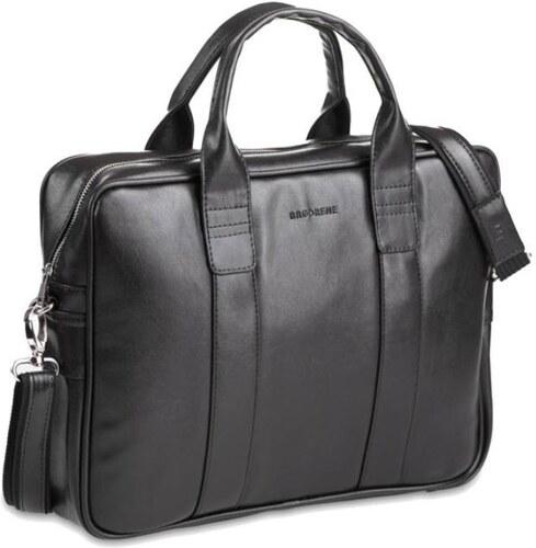 Brodrene elegáns férfi laptop táska fekete - Glami.hu f03fac5528
