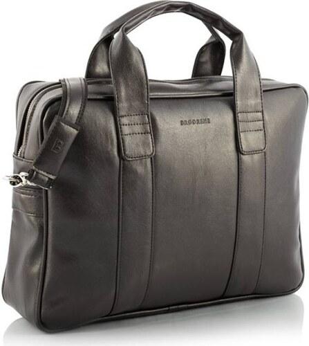 Brodrene elegáns férfi laptop táska sötétbarna - Glami.hu fdfdca414b