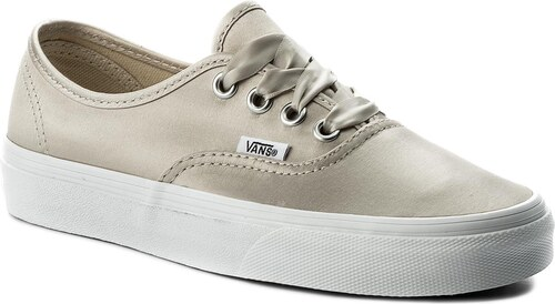 d250b4c36631 Teniszcipő VANS - Authentic VA38EMQ9J (Satin Lux) Light Silver ...