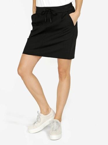 54e74f33549d Černá sukně s elastickým pasem VERO MODA Eva - Glami.cz