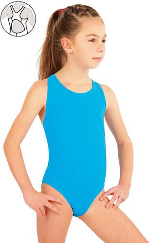 bcac54ae46e LITEX Dívčí jednodílné sportovní plavky 52627 - Glami.cz