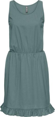 Bonprix Úpletové šaty s volánmi - Glami.sk 30e8ec6da3c