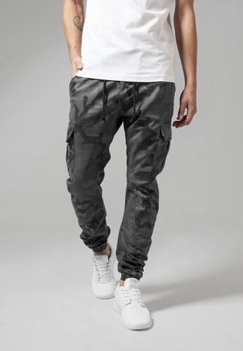Urban Classics Camo Cargo Jogging Pants grey camo - Glami.cz 78cd89b859