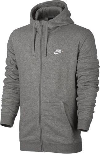 72b011435c Nike M NSW HOODIE FZ FT CLUB Kapucnis melegítő felsők 804391-063 ...