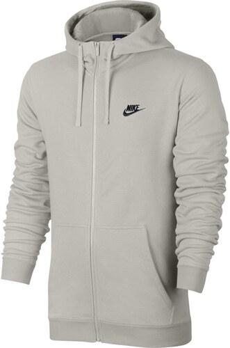 444626d735 Nike M NSW HOODIE FZ FT CLUB Kapucnis melegítő felsők 804391-072 Méret XL