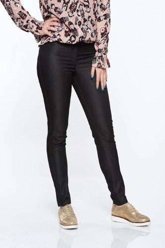 e522e97b03 Fekete StarShinerS irodai kónikus normál derekú nadrág nem elasztikus pamut