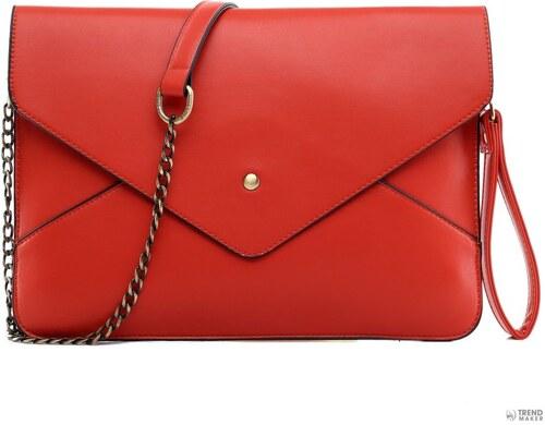 Miss Lulu London L1507 - Miss Lulu Envelope Táska Clutch táska piros  kac 55776192ae