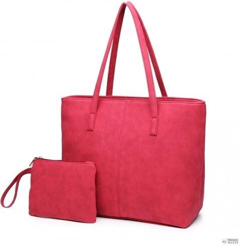 ed6e45f142de Miss Lulu London E1769 CT - Miss Lulu trendi bevásárló táska táska Claret
