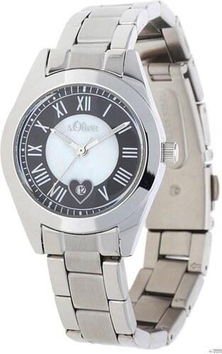 s.Oliver női óra karóra ezüst SO-15086-MQR - Glami.hu 6d014edddf