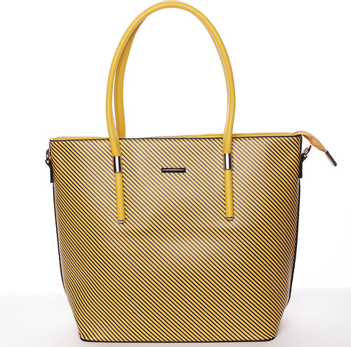 Originálna väčšia kabelka žltá - Silvia Rosa Ciara žltá - Glami.sk b798ecd512d