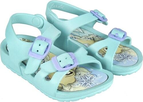 5ad2574aa Disney Brand Dievčenské sandále Frozen - mentolové - Glami.sk