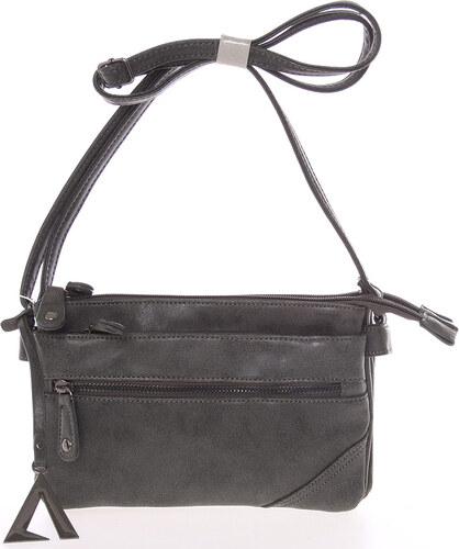 Dámská módní crossbody kabelka tmavě šedá - Just Dreamz Ligia šedá ... 23d06fafdda