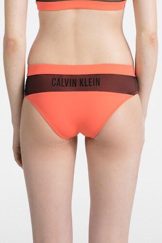 e6580c8f0 Calvin Klein oranžový spodní díl plavek Hipster - XS - Glami.cz